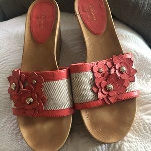 COACH sandals - Size 10